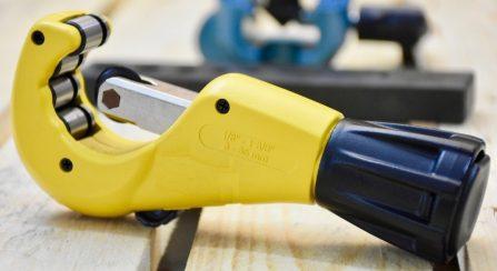 Dao cắt ống inox khung nhôm 76mm 180-76 Elora Germany