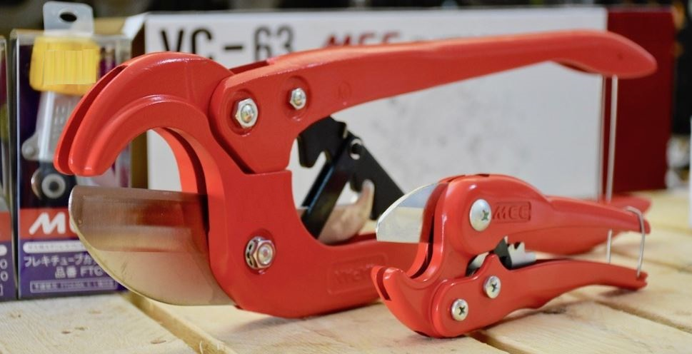 dao cắt ống nhựa PVC loại cổ điển MCC Japan
