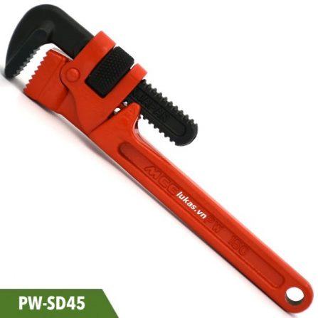 Mỏ lết răng 18 inch PW-SD45 MCC Japan, độ mở ngàm 61mm.
