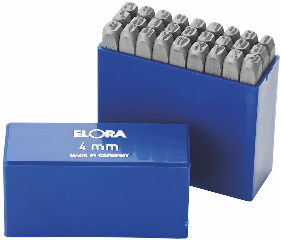 Bộ đục chữ 400B series Elora Germany