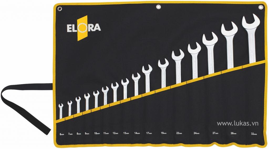 Bộ cờ lê vòng miệng 205SMT Elora Germany