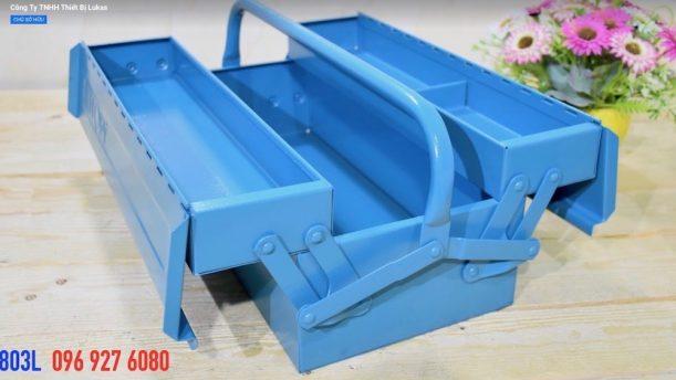 Thùng đồ nghề 3 ngăn bằng thép 813L và 803L Elora Germany.
