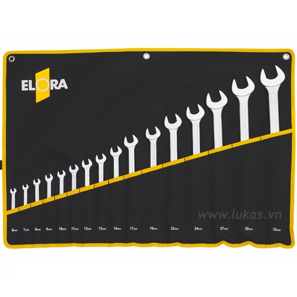 Bộ cờ lê vòng miệng 26 món 6-32mm 205S 26MT Elora Germany