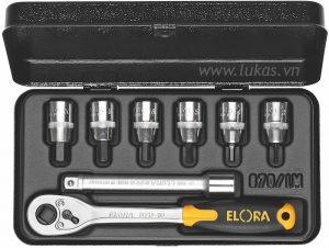 Bộ đầu vít lục giác 8 món 870-INMU Elora Germany
