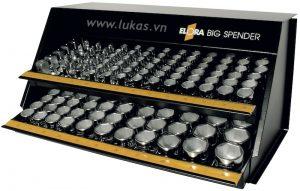Bộ khẩu 12 cạnh 144 món 770-KS1M Elora Germany