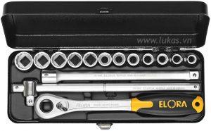 Bộ socket 15 món 771-LKMK Elora Germany