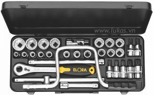 Bộ socket 31 món 770-LXZNK Elora Germany