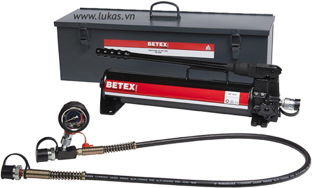 Bộ bơm thủy lực dùng tay 2 lít HC2000 SET Betex - Hà Lan