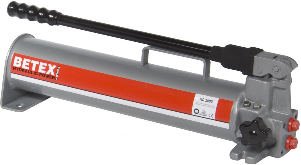 Bơm thủy lực dùng tay HC2500 Betex - Hà Lan