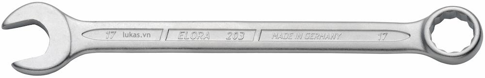 Cờ lê vòng miệng 203 series Elora Germany