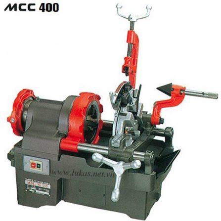 Máy tiện ren ống MCC400 từ 1/4 inch đến 1.1/2 inch