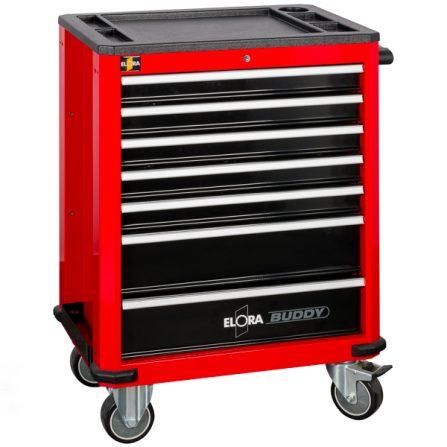 Tủ đồ nghề 7 ngăn BUDDY 1210-L7R màu đỏ Elora Germany
