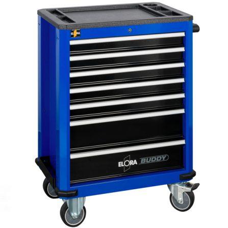 Tủ dụng cụ 7 ngăn BUDDY 1210-L7B màu xanh Elora Germany