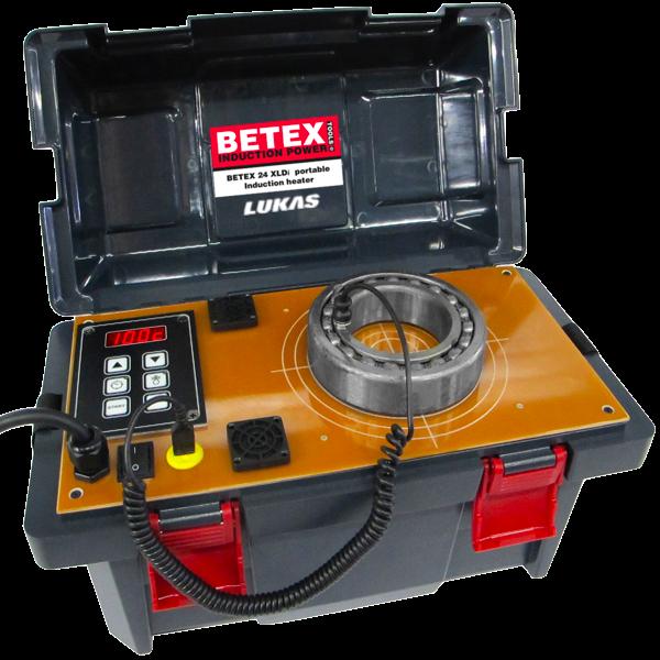 Máy gia nhiệt bạc đạn 10kg 24 XLDi Betex - Hà Lan.