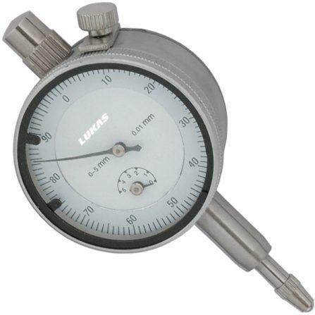 Đồng hồ so cơ khí 0-5mm 1557 Elora Germany.