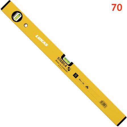 Thước thủy đo cân bằng type 70 từ 30cm đến 200cm Stabila Germany.