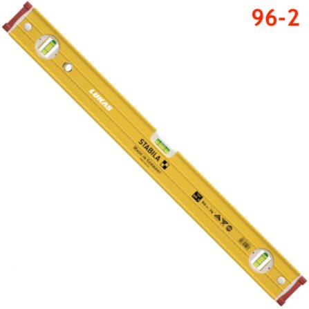 Thước thủy đo độ cân bằng 96-2 type Stabila Germany, đế không có từ tính.