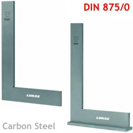Eke vuông thép carbon DIN 875/0 Vogel Germany.