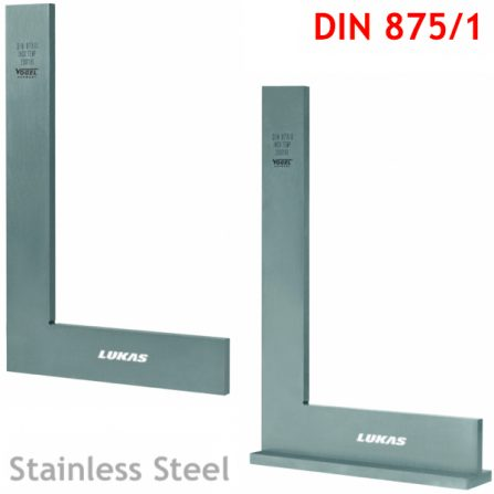 Eke đo góc 90 độ inox DIN 875/1 Vogel Germany, eke vuông.