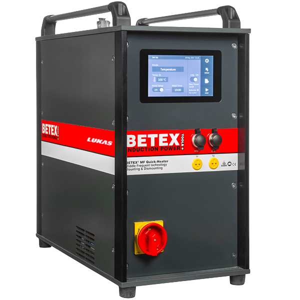 Máy gia nhiệt trung tần 22kW, bằng cuộn dây, phiên bản V3.0 BETEX Hà Lan