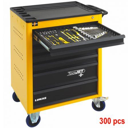 Tủ đồ nghề 7 ngăn 300 món Tool Jet Elora Germany.