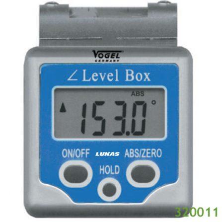 Thước thủy điện tử đo góc nghiêng 180 độ 320011 Vogel Germany.
