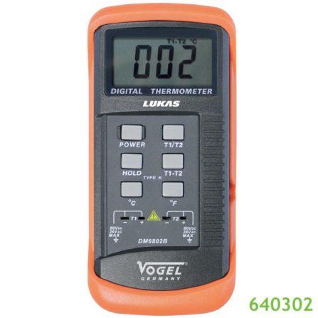 Máy đo nhiệt độ điện tử tiếp xúc 640302 Vogel Germany.
