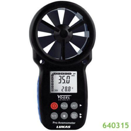 Máy đo tốc độ gió điện tử 641205 Vogel Germany 0.3 - 30m/s.