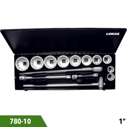 Bộ tuýp 14 món 780-10 series 1 inch Elora Germany.