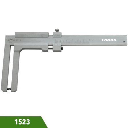 Thước cặp cơ khí 60mm 1523 ngàm dài 80mm Elora Germany.