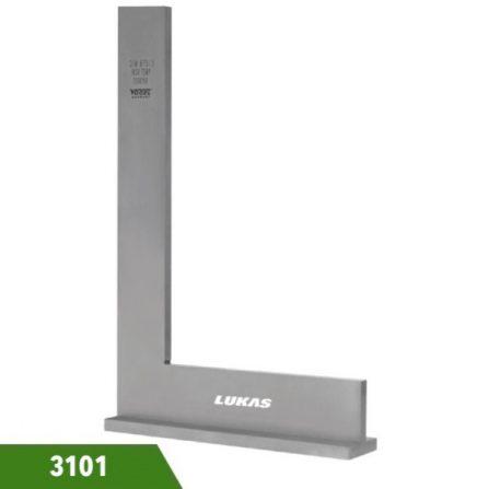 Eke có chân đế DIN 875/2 Vogel 3101 series, đo góc vuông.
