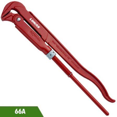 Mỏ lết ống ngàm cong 90 độ 66A series Elora Germany.