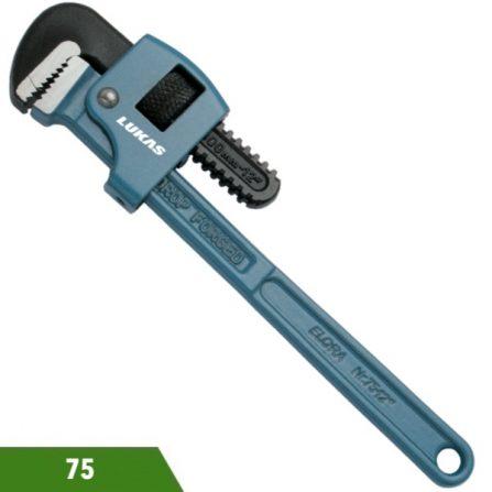 Mỏ lết răng kiểu Mỹ kẹp ống 35-77mm 75 series Elora Germany.