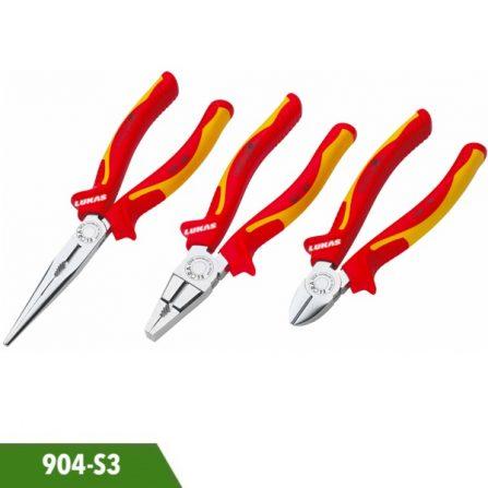 Bộ kìm đa năng 3 món cách điện 1000V 904-S3 Elora Germany.