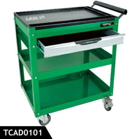Xe đẩy dụng cụ 3 ngăn TCAD0101 Toptul Taiwan.