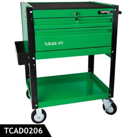 Xe đẩy đồ nghề 3 ngăn TCAD0206 Toptul Taiwan.