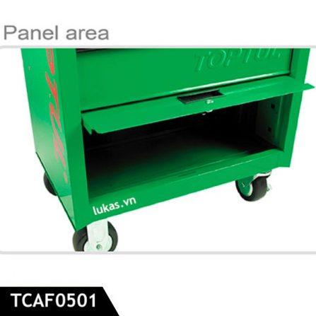 Tủ kéo 5 ngăn đựng đồ nghề TCAF0501 Toptul Taiwan.