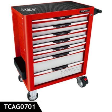 Tủ đồ nghề 7 hộc đựng TCAG0701 Toptul Taiwan.