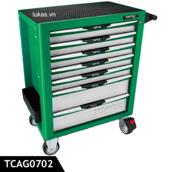 Tủ dụng cụ 7 hộc đựng TCAG0702 Toptul Taiwan.