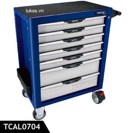Tủ chứa dụng cụ 7 ngăn TCAL0704 Toptul Taiwan.