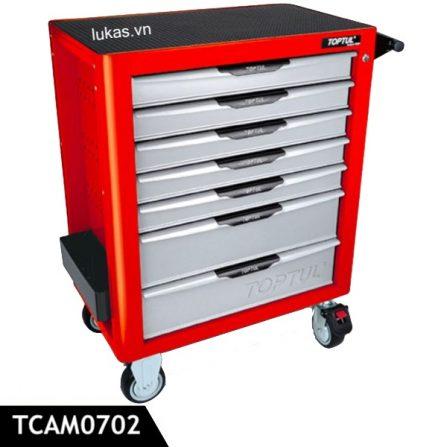 Tủ đựng đồ nghề 7 ngăn TCAM0702 Toptul Taiwan.
