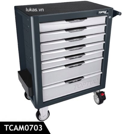 Tủ đựng dụng cụ 7 ngăn TCAM0703 Toptul Taiwan.