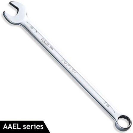 Cờ lê vòng miệng 10-19mm AAEL series Toptul Taiwan, loại dài.