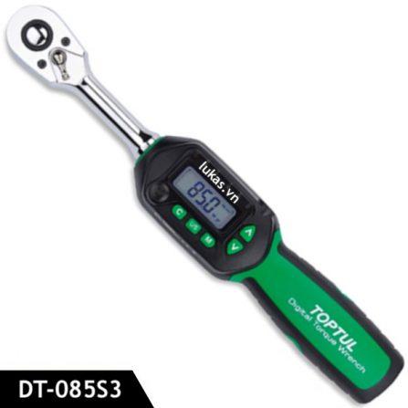 Cờ lê lực điện tử 3/8 inch 4.2-85 Nm DT-085S3 Toptul Taiwan.
