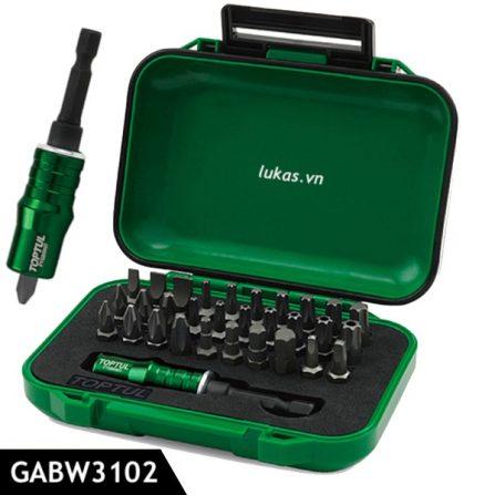 Bộ vít 31 món 1/4 inch GABW3102 Toptul Taiwan.