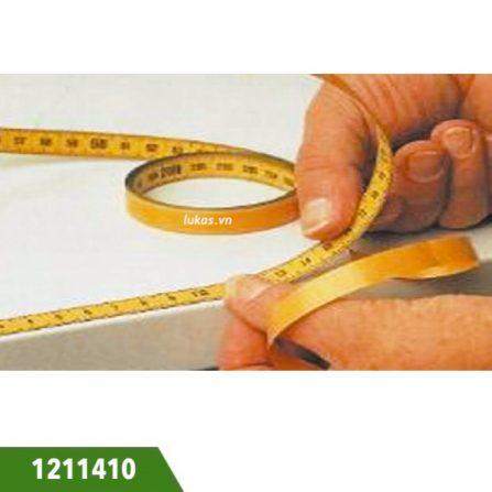 Thước lá thép dây đo hệ mét 1211410 series Vogel Germany.