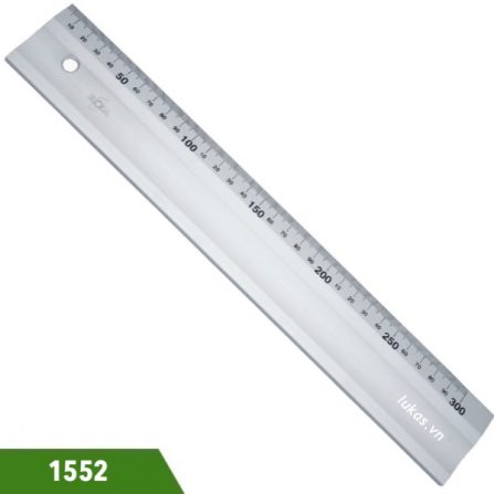 Thước nhôm thẳng hệ mét 300-1000mm 1552 Elora Germany.