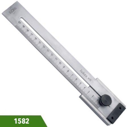 Thước thép làm dấu 200-300mm 1582 series Elora Germany.