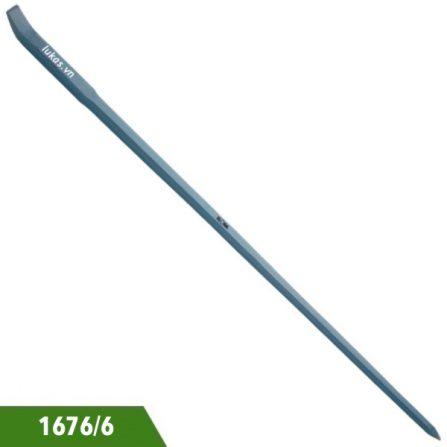 Xà beng lưỡi dẹt đuôi nhọn 1676/6 Elora Germany.