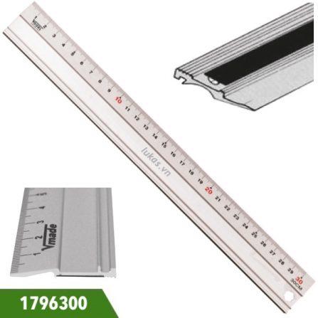 Thước đo bằng nhôm mặt đo xiên 1796300 series Vogel Germany.